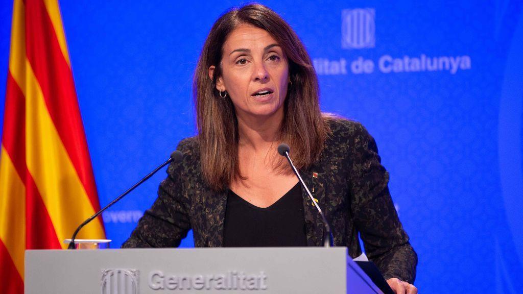 Meritxel Budó, portavoz del gobierno catalán