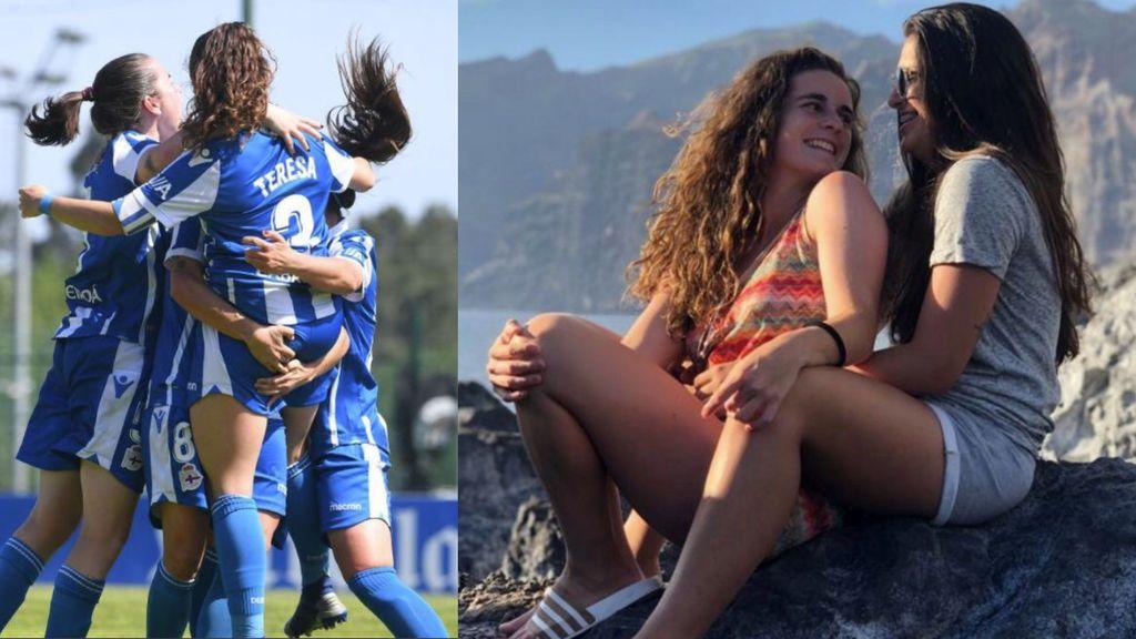 Muestran su amor en la prensa y reciben insultos homófobos: dos jugadoras del Dépor fueron insultadas