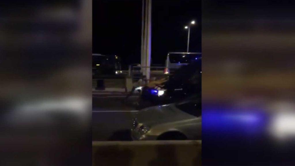 """""""Esta actuación policial de los Mossos pone en peligro la integridad física de las personas"""""""