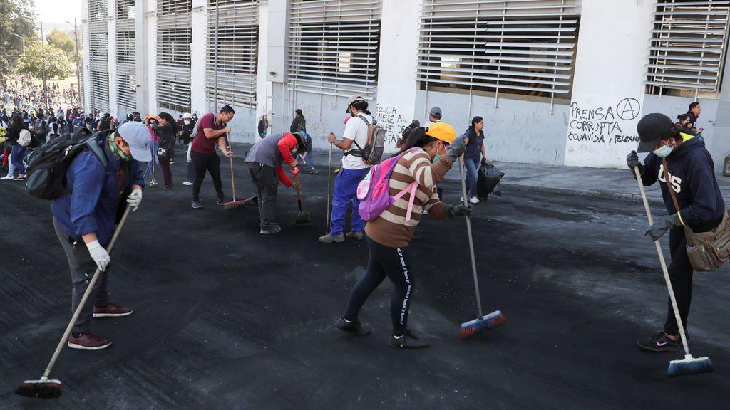 Ecuador vuelve a la normalidad después de la marcha de Lenín Moreno al paquetazo