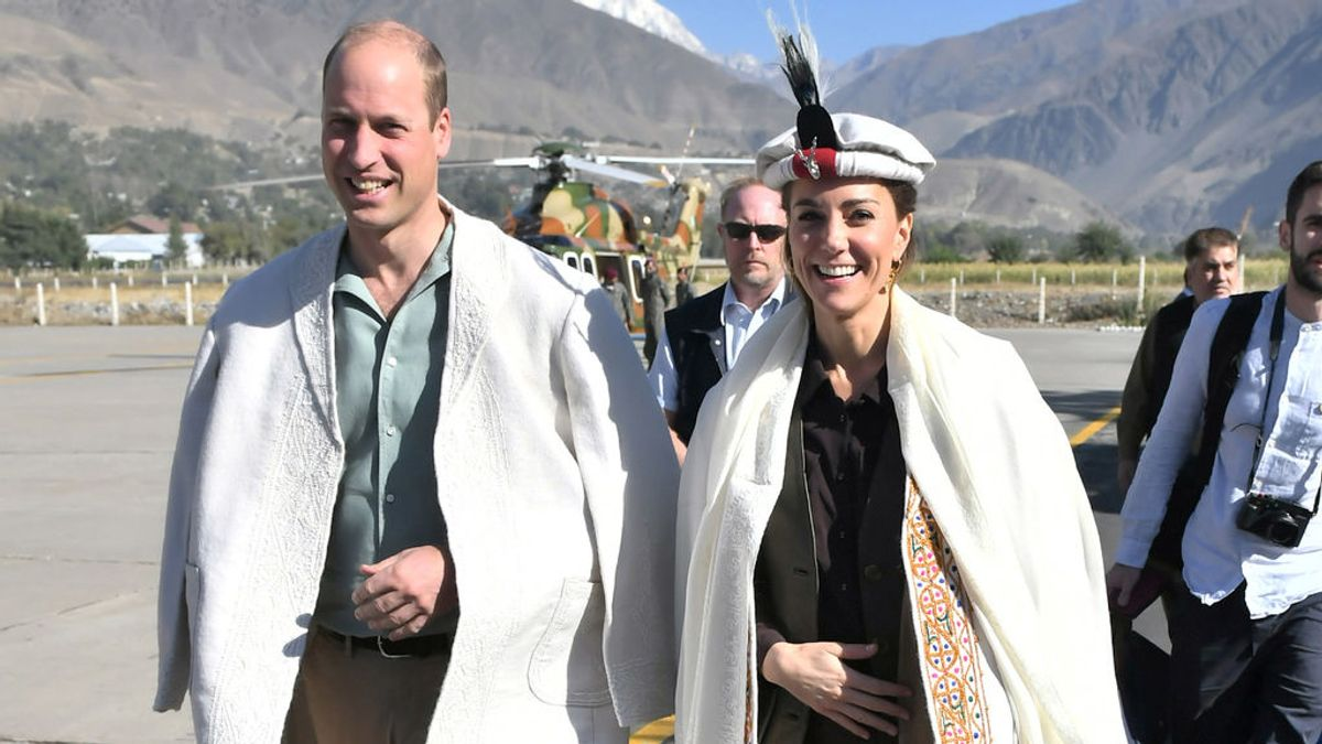 Kate Middlenton, tras los pasos de la princesa Diana en Pakistán