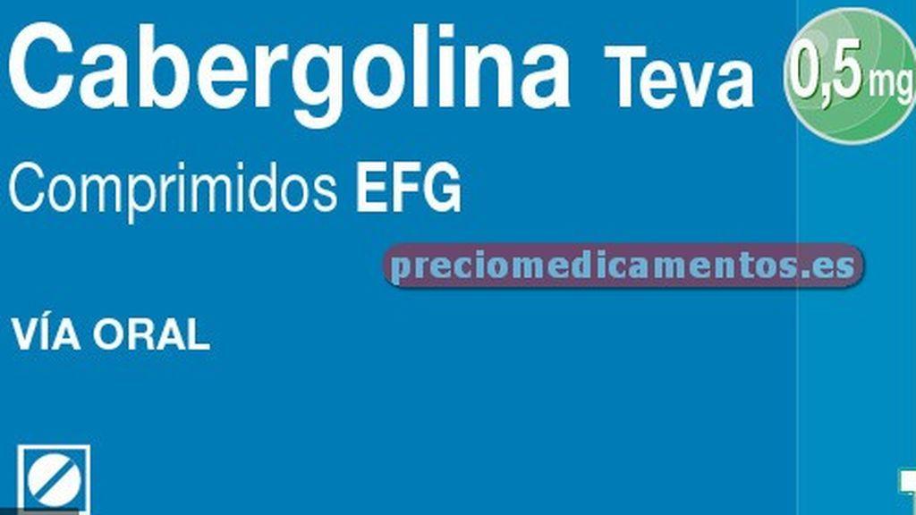 La Agencia Española del Medicamento solicita la retirada de un lote de Cabergolina Teva