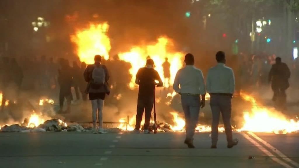 """EEUU pide """"moderación"""" a quienes protestan contra la sentencia del 'procés'"""
