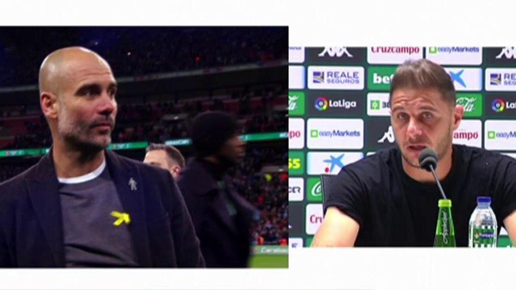 Joaquín contesta a Xavi y Guardiola
