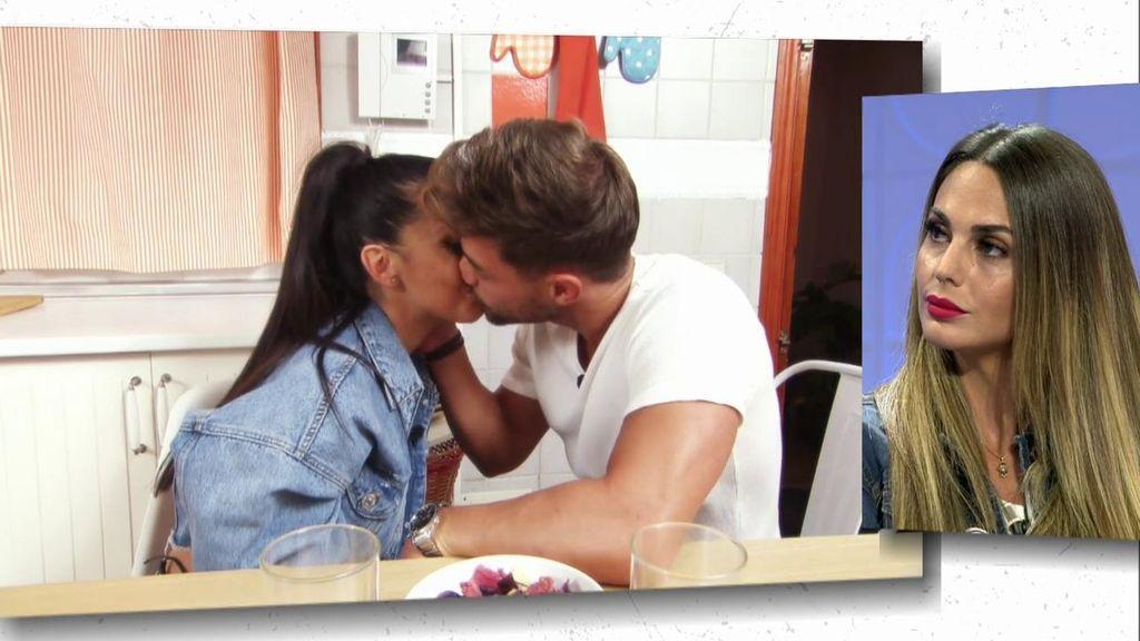 Nerea y David se besan en su segunda cita