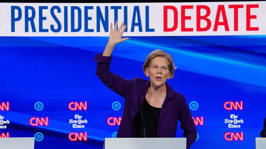 Todos contra Warren en el debate demócrata más esperado