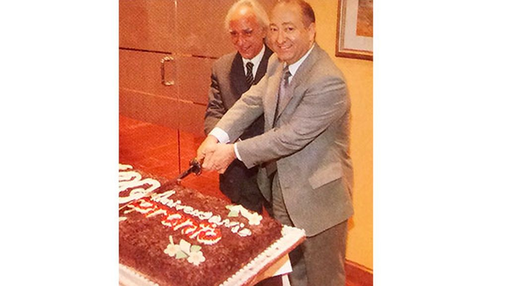 Mariano Nadal y Antonio Gómez Abad (Pronto)