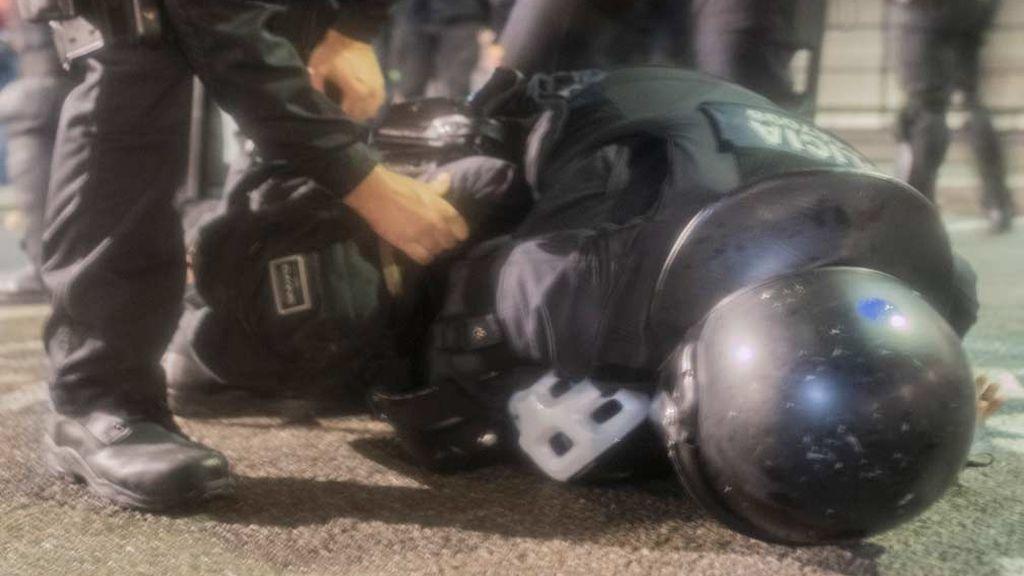 Balance de heridos en las protestas en Cataluña