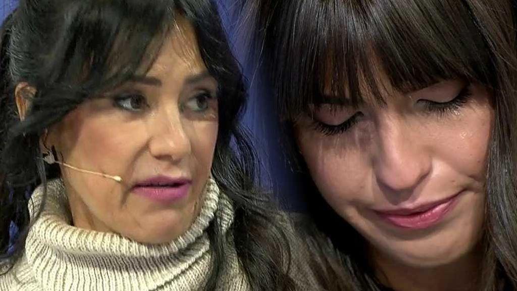 Sofía llora en plató
