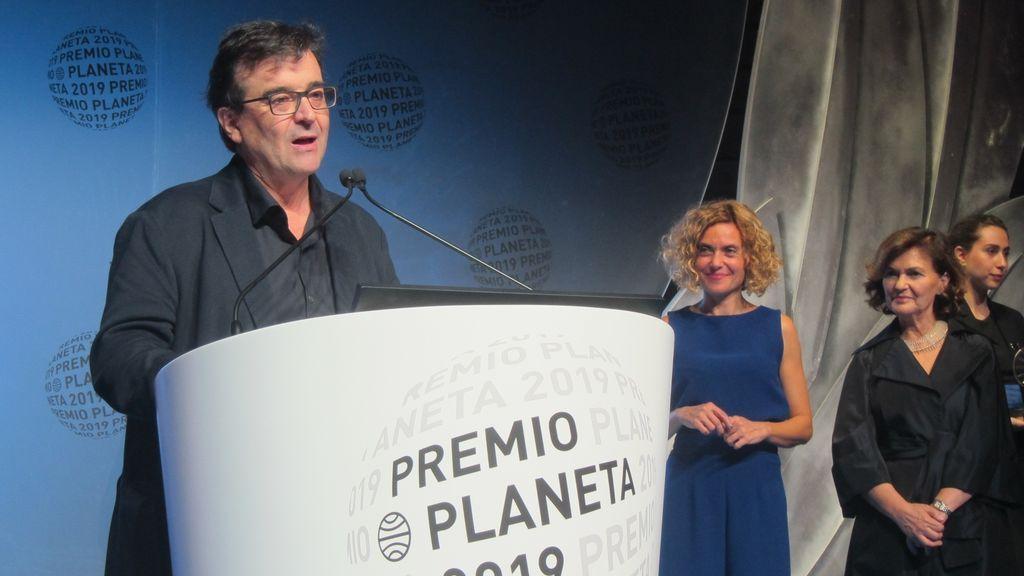 """El escritor Javier Cercas, Premio Planeta 2019: """"Sin lo ocurrido estos años en Cataluña, este libro nunca lo habría escrito"""""""