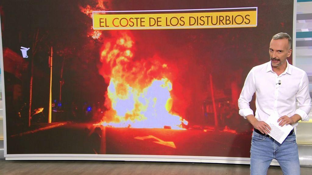 Más de un millón de euros: el precio de los disturbios de Barcelona