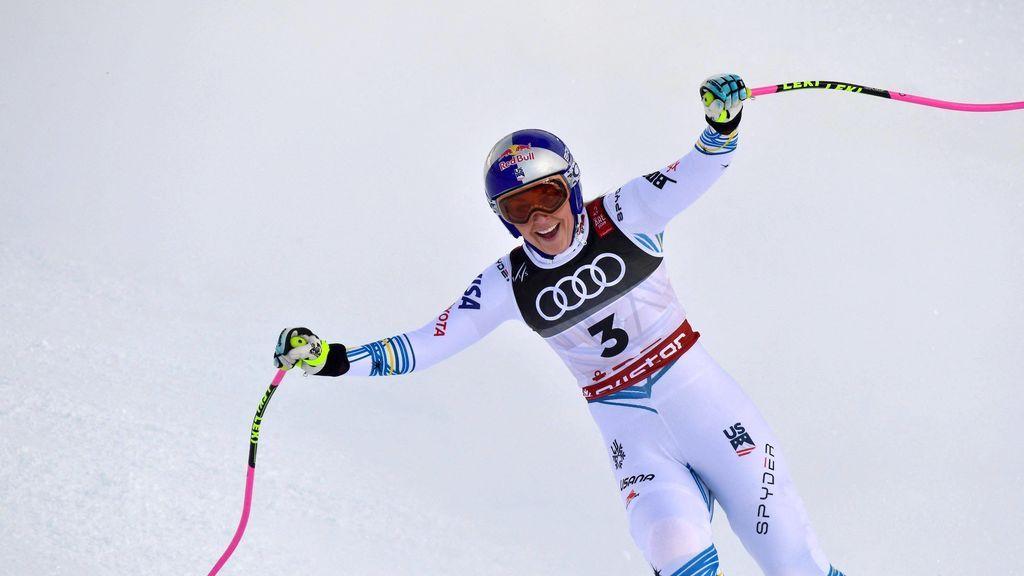La exesquiadora Lindsey Vonn recibirá este viernes el Princesa de Asturias del Deporte