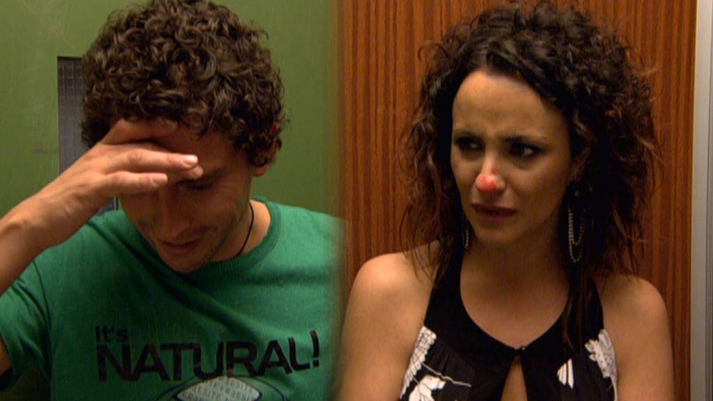 Paz se declaró al Luisma con una nota y él se sonó la nariz con ella