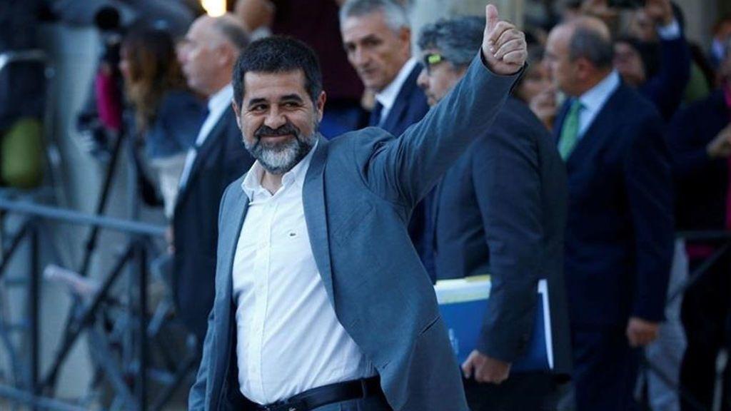 """Jordi Sánchez: """"Hay que rechazar sin paliativos las estrategias de crear caos con barricadas de fuego"""""""