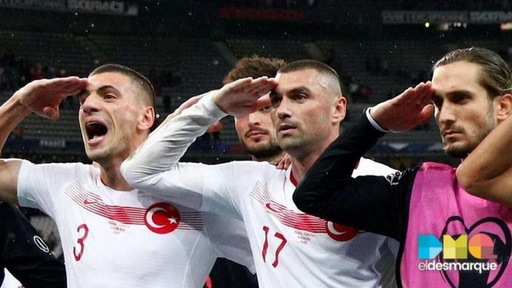 okay saludo militar turquia