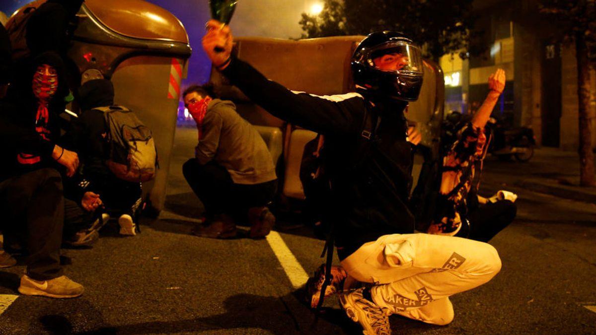 El postureo con con las revueltas independentistas en Cataluña