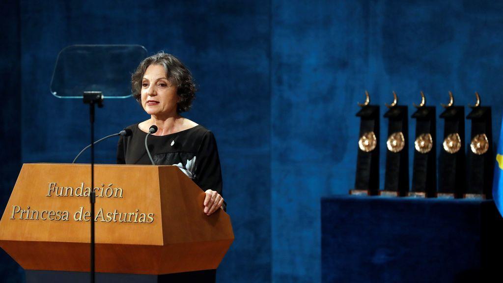 La bióloga argentina Sandra Myrna Díaz, Premio Princesa de Asturias de Investigación Científica y Técnica 2019