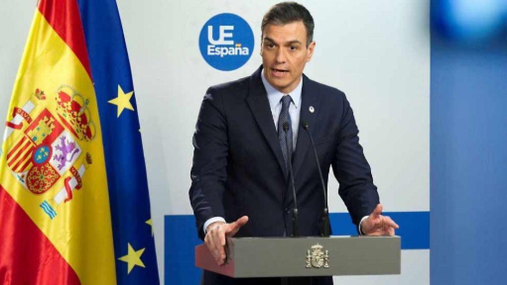 Sánchez advierte que el vandalismo no saldrá impune y muestra como fortaleza la mesura del Gobierno