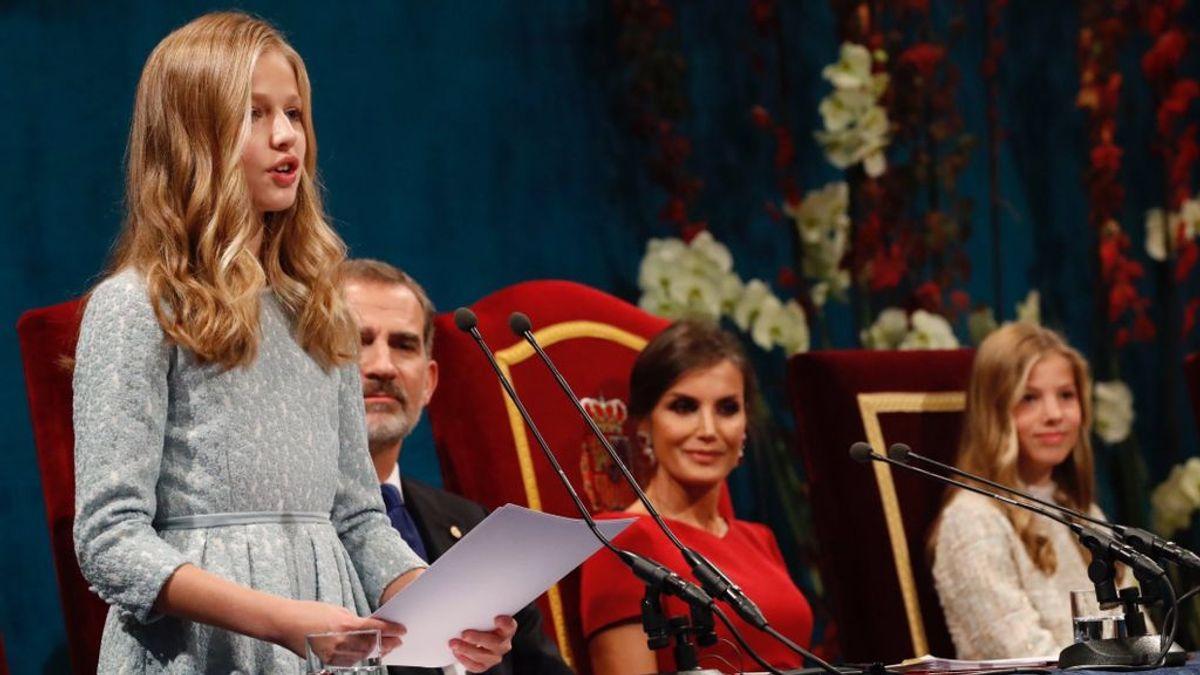 """El discurso de Leonor en los Premios Princesa de Asturias: """"Es un día muy importante en mi vida"""""""