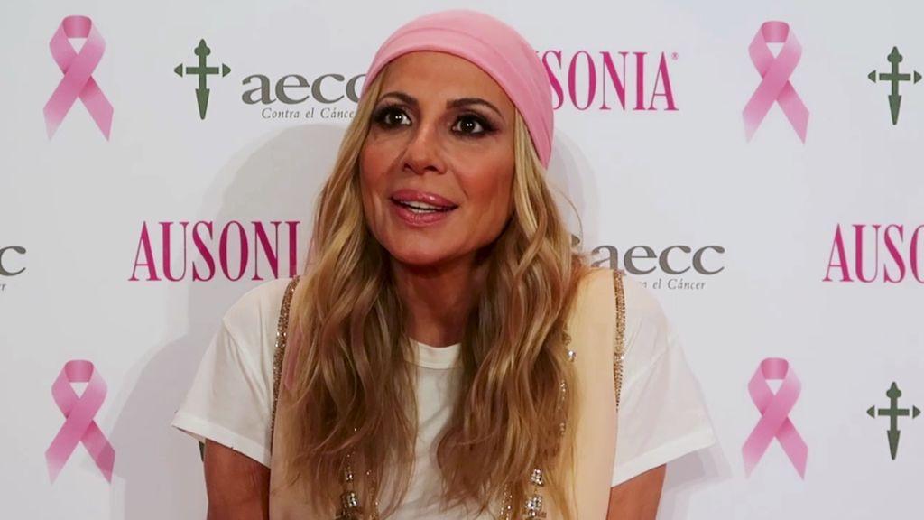 """Marta Sánchez: """"""""He perdido a mucha gente por el cáncer, tenemos que saber como está nuestro"""""""
