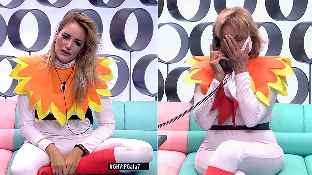 Noche de lágrimas con la llamada de los familiares: de la conversación en clave entre Alba y Lucía, a la promesa de Mila a su hija