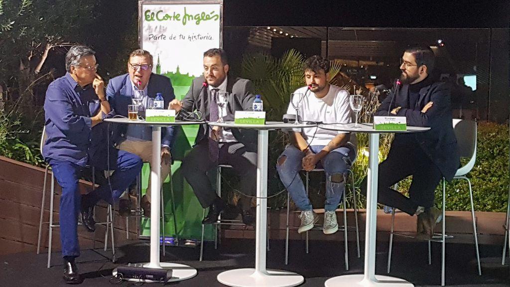 Josele, César Cadaval, Fede Quintero, Juan Amodeo y Manu Sánchez