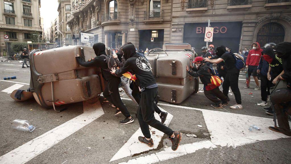 Disturbios en la Vía Laietana