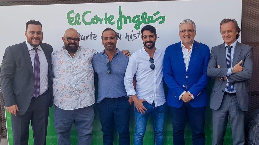 Fede Quintero, Canijo de Carmona, Lolo Seda, Antonio Bizcocho, Manolo Casal y Fernando Murube