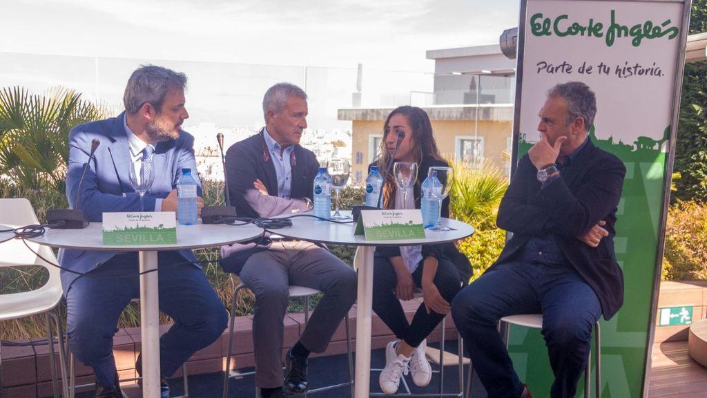 Jorge Liaño, Pablo Blanco, Olga Carmona, Joaquín Caparros