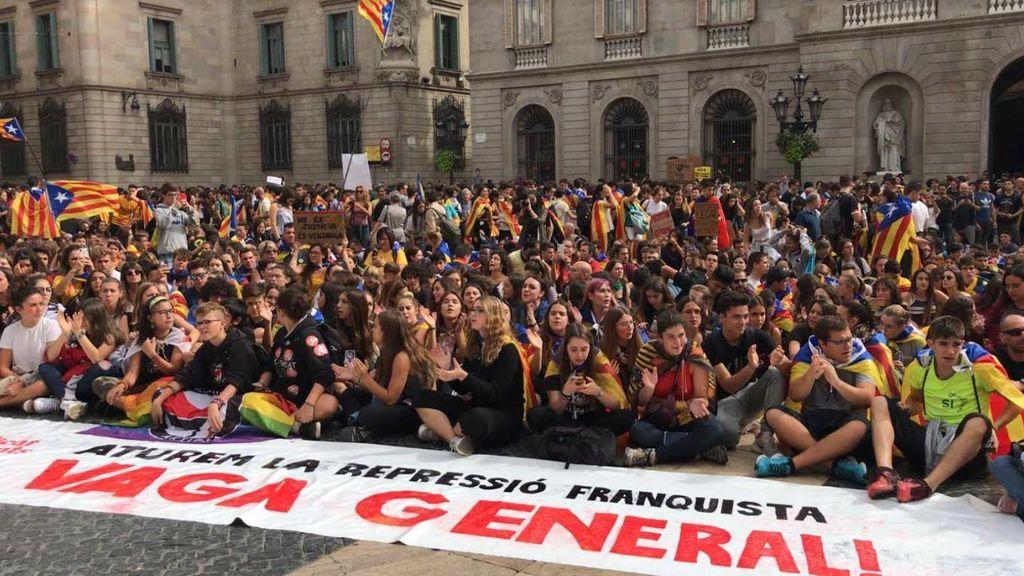 Marcha por la libertad en Barcelona