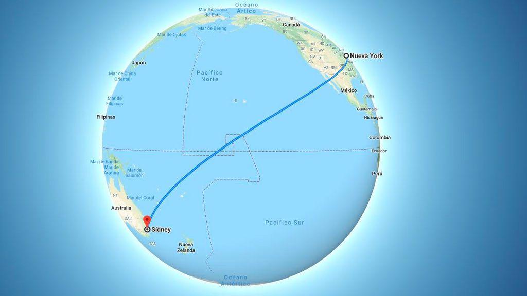 Despega el vuelo más largo de la historia: de Nueva York a Sidney sin escalas