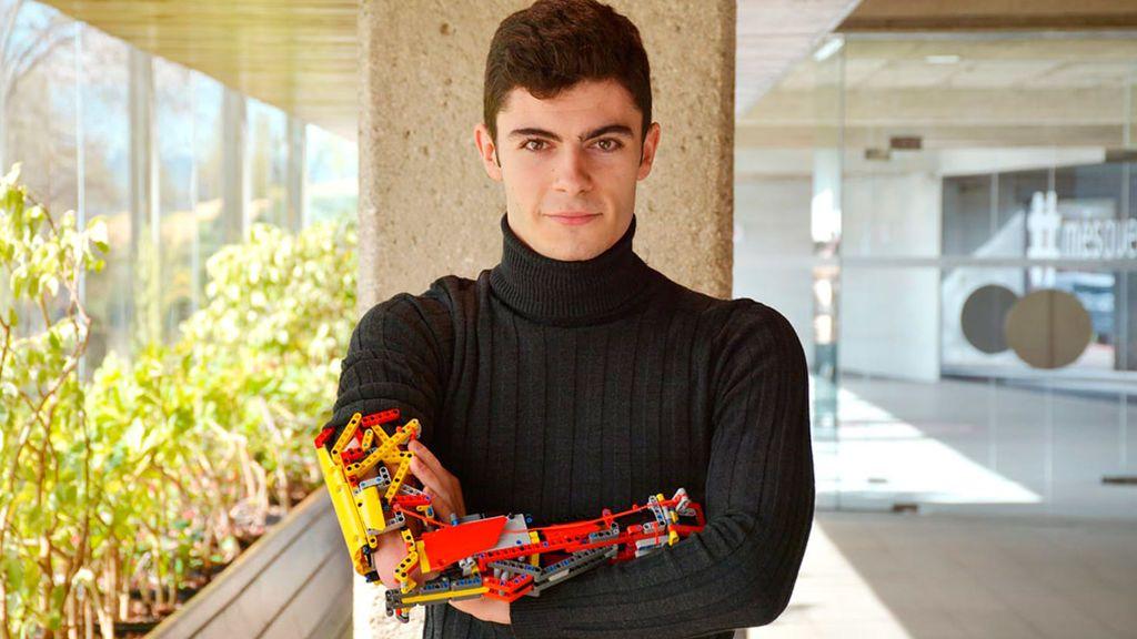 """David y su prótesis de Lego llegan al Guinness de los Récords: """"No hay barreras si uno no quiere"""""""