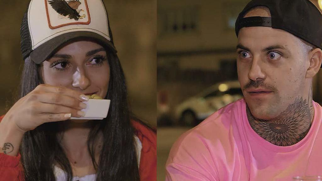 """Manuel, a Yasmín: """"Conmigo no puedes comer aceitunas"""""""