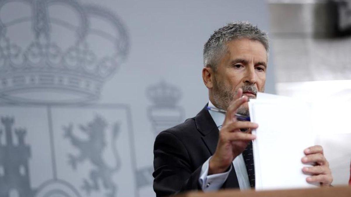 En directo: rueda de prensa del ministro del Interior, Fernando Grande-Marlaska