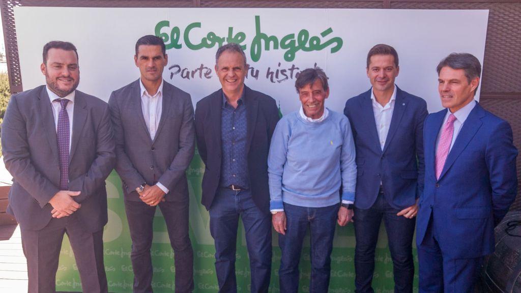 Fede Quintero, Juanito, Joaquín Caparros, Paco Chaparro, Víctor Sala