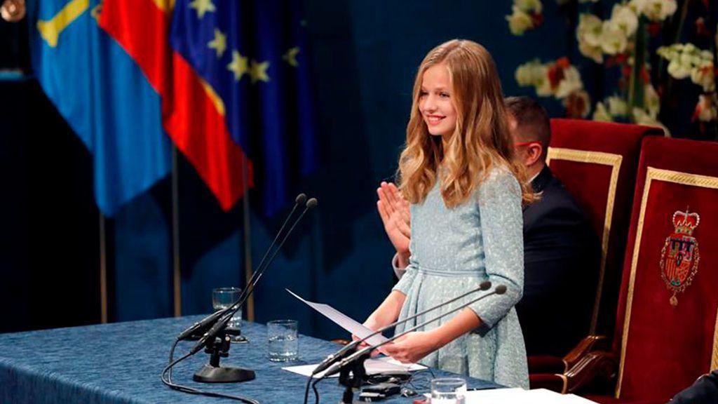 La princesa de Asturias, protagonista de los premios que llevan su nombre