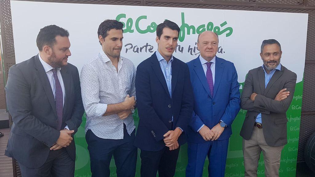 Fede Quintero, David Troya, Ricardo Pabón, Miguel Ángel Aguado y Santi Martínez