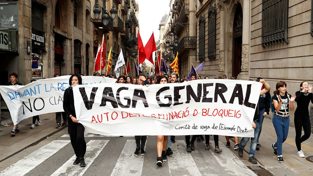 El consumo eléctrico cae un 4,3% en Cataluña durante las primeras horas de huelga
