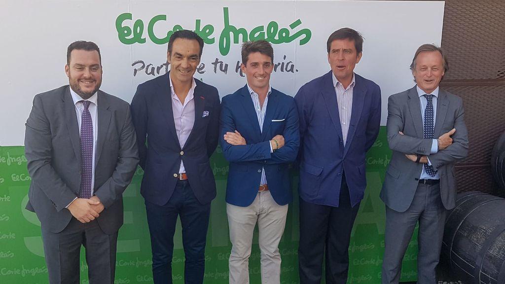 Fede Quintero, Manuel Jesús el Cid, Alfonso Cadaval, Dávila Miura y Fernando Murube.