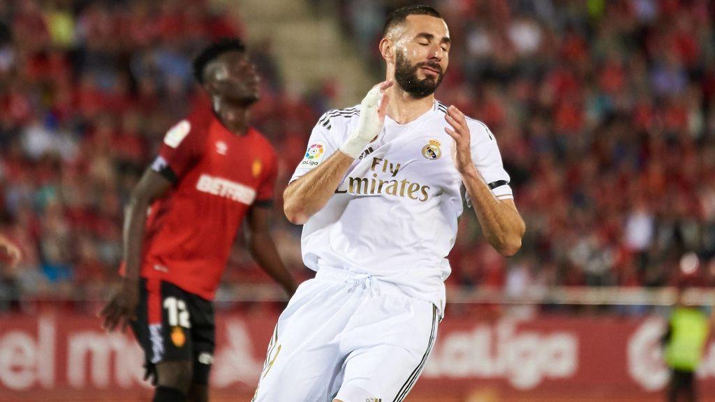 El Real Madrid cae en Mallorca (1-0) y cede el liderato al Barcelona
