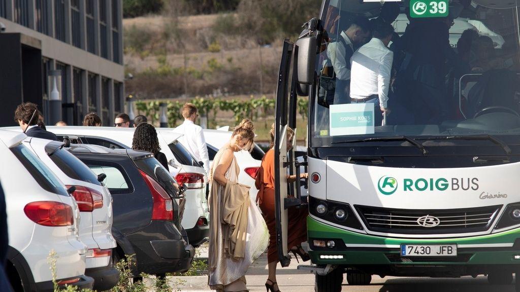 Boda de  Rafael Nadal y Mery Perelló: los invitados camino del enlace