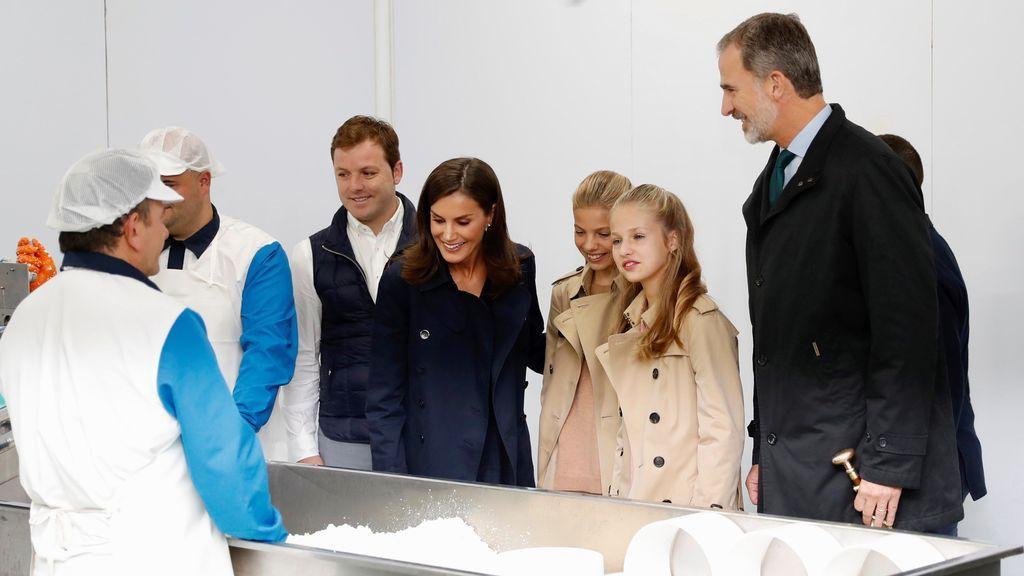 Los Reyes, junto a la Princesa de Asturias y la Infanta Sofía ya están en Asiegu, Pueblo Ejemplar 2019