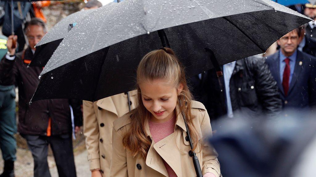 """La Princesa Leonor: """"Asturias es mi casa y Asiegu tendrá siempre un lugar especial en mi corazón"""""""