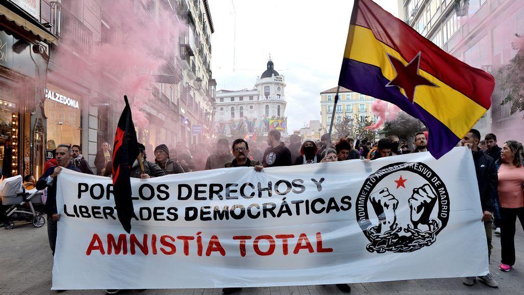 Manifestación en Madrid contra la sentencia del procès