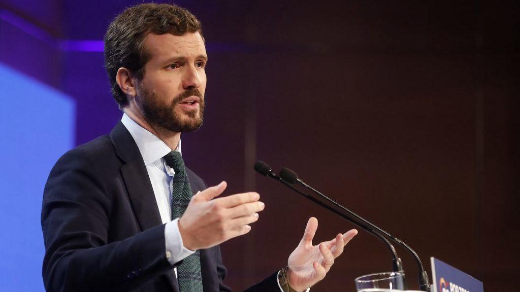 """Casado pide a Sánchez """"reestablecer la ley y el orden"""" y Rivera exige la aplicación """"ya"""" del artículo 155"""