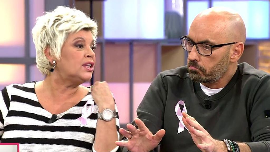 """El pique entre Terelu y Diego Arrabal: """"Para ti es muy gracioso pero a mí no me hace ninguna gracia"""""""