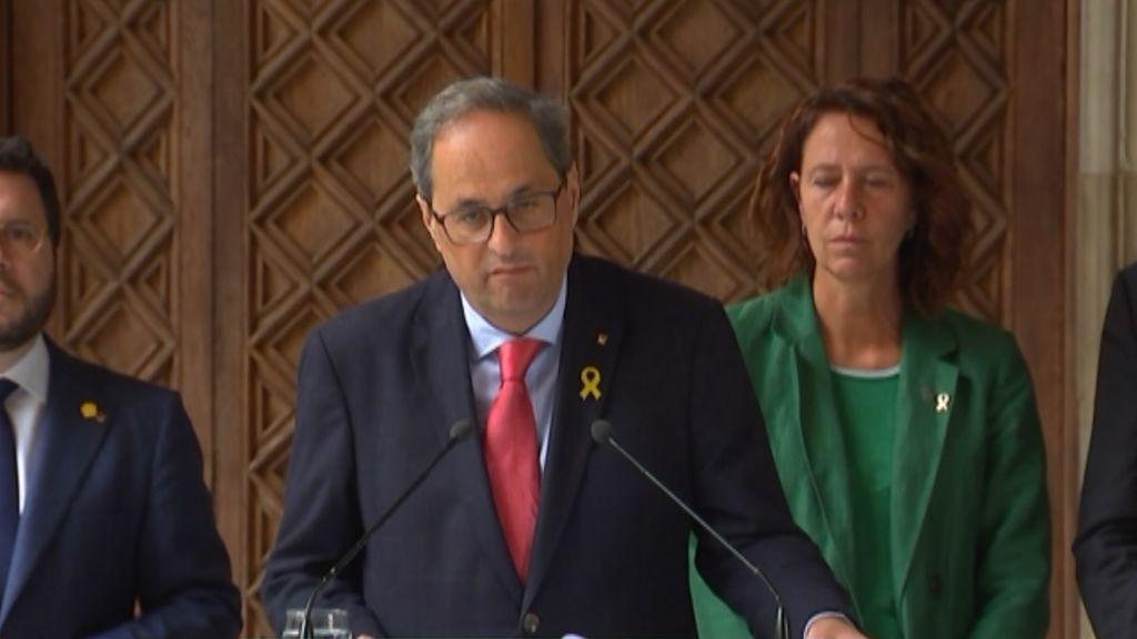 """Torra: """"Llegaremos tan lejos como el pueblo de Cataluña quiera llegar"""""""