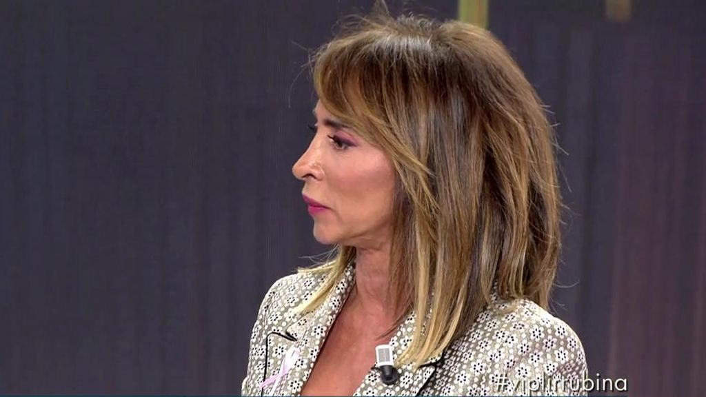 """María Patiño en su noche más dura como presentadora: """"Pido perdón a los espectadores"""""""