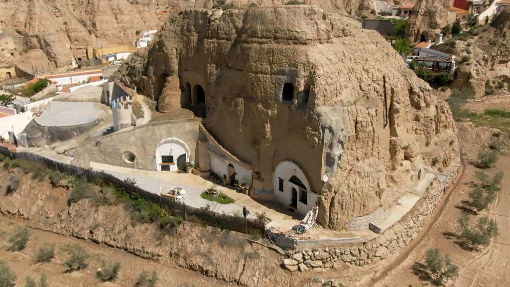 Así son las casas cueva de Granada