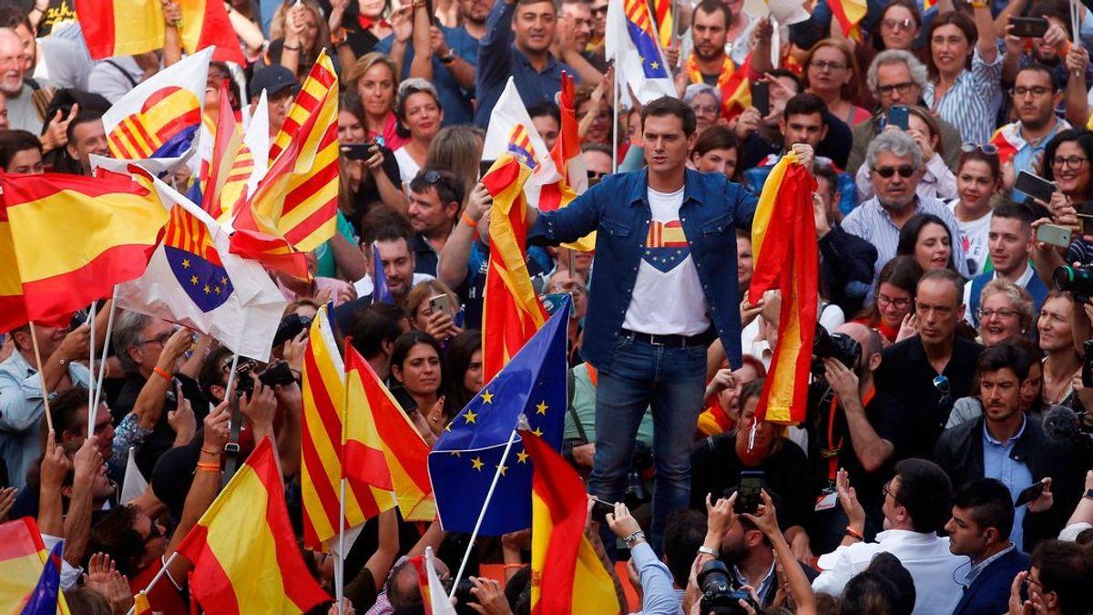 """Albert Rivera: """"Quiero ser presidente para meter en la cárcel a quienes intenten romper España"""""""